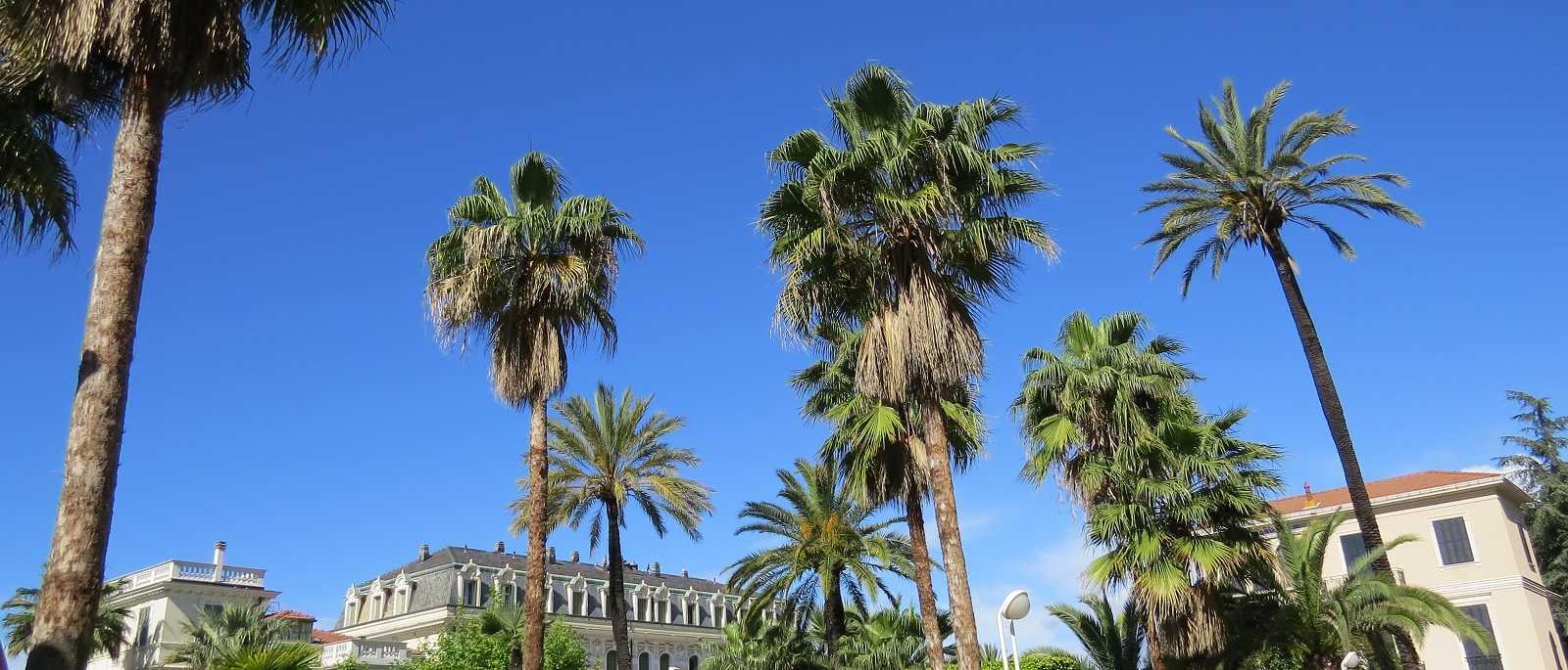 Bordighera, villa d'epoca divisa in appartamenti e corte