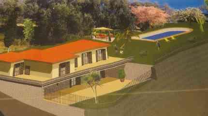 Rendering prossima villa da costruire