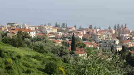 Bordighera, panorama