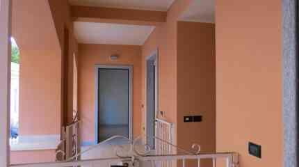 Pianerottolo di accesso all'appartamento