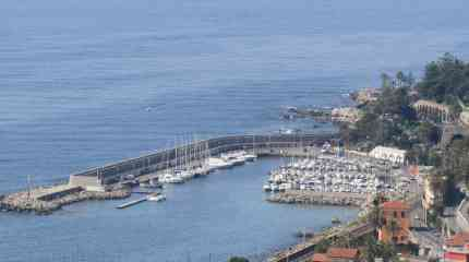 Il porto turistico