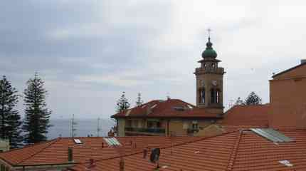 Codice:373 - Bordighera centro, attico  su due livelli