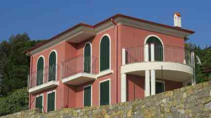 Codice:442 - Bordighera, villa vista mare a mezza collina