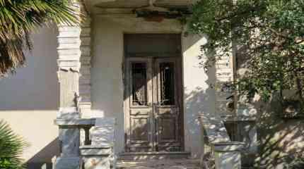 Entrata dell'ex villa borghese datata 1940