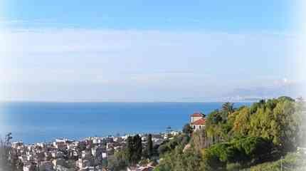 Il panorama dalla proprietà