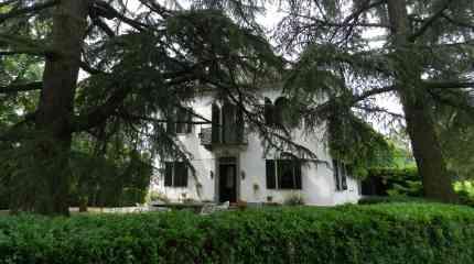Villa circondata dal parco