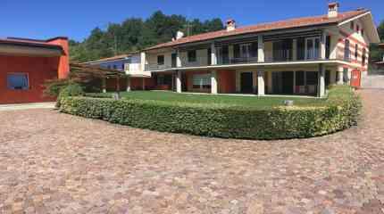 La casa con giardino