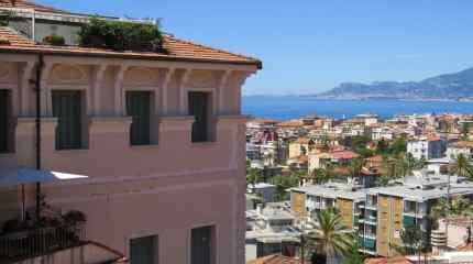 Panorama sul mare e su Monaco