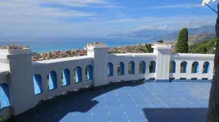 La terrazza con panorama sul Principato di Monaco
