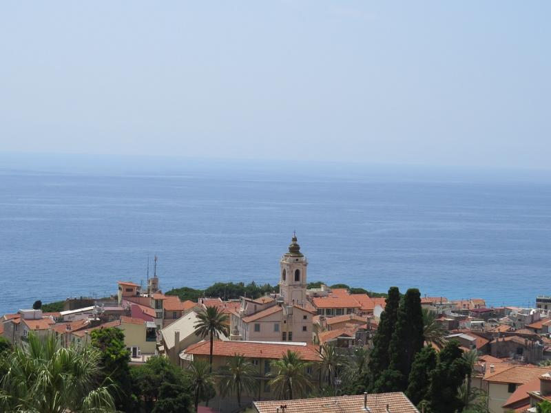 Bordighera Alta e la pineta