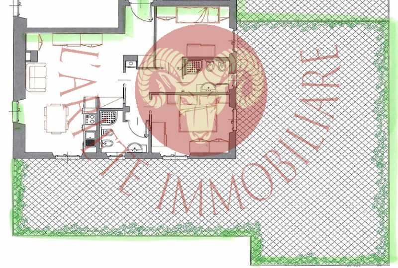 Bordighera trilocale nuovo con grande terrazza for Pianta dell appartamento da 300 piedi quadrati